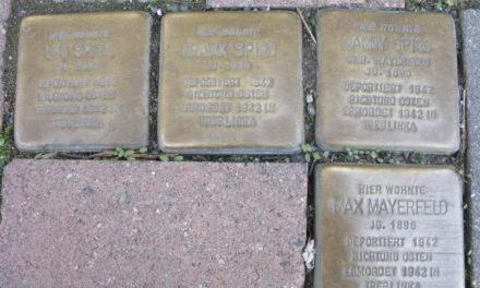 """<span class=""""entry-title-primary"""">Stolpersteine in Hochheim und Massenheim verlegt</span> <span class=""""entry-subtitle"""">xx</span>"""