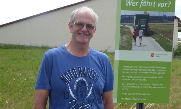 """<span class=""""entry-title-primary"""">Für ein gedeihliches Miteinander von Spaziergängern und Landwirtschaft</span> <span class=""""entry-subtitle"""">Arbeitsgemeinschaft der Mainzer Bauernvereine organisiert 87 Hinweisschilder</span>"""