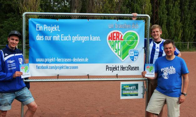 """<span class=""""entry-title-primary"""">HerzRasen – das Projekt mit Herz für Fußball</span> <span class=""""entry-subtitle"""">Jugend kämpft für ihre sportliche Zukunft</span>"""
