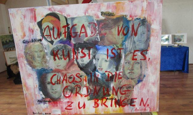 "<span class=""entry-title-primary"">Motto: ""Kreatives Chaos"" lockt zahlreiche Kunstfreunde</span> <span class=""entry-subtitle"">Ebersheimer Kunstkreis Indigo feiert 10-jähriges Bestehen</span>"