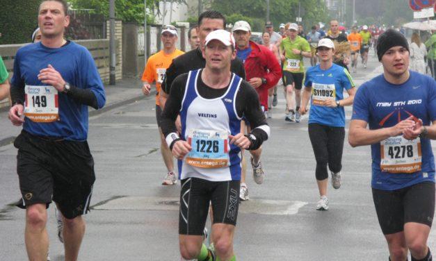 """<span class=""""entry-title-primary"""">Mit Pauken und Trompeten empfangen</span> <span class=""""entry-subtitle"""">Der Mainzer Gutenberg-Marathon begeisterte auch dieses Jahr wieder die Kasteler und Kostheimer</span>"""