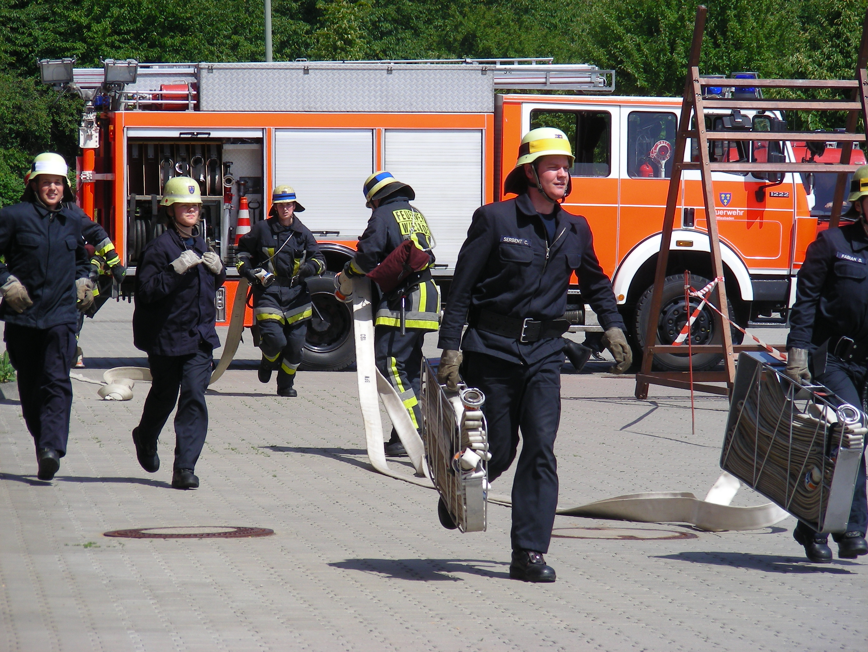 Feuerwehr zum Anfassen