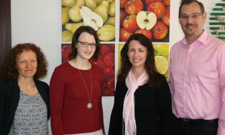Neue Mitarbeiterinnen in der Verwaltung