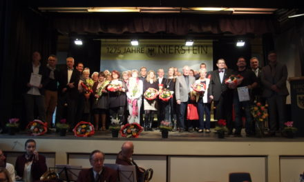 Neujahrsempfang der Stadt Nierstein mit Premiere des Imagefilms und Ausblicke auf das Jubiläumsjahr 2017