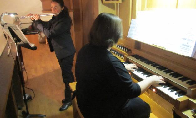 """<span class=""""entry-title-primary"""">Flöte und Orgel in der Kostheimer Kilian-Kirche</span> <span class=""""entry-subtitle"""">Anspruchsvolle Musik mit dem Duo """"Horizontal/Vertikal""""</span>"""