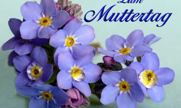 Nicht vergessen: Am 11. Mai ist Muttertag