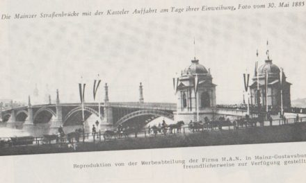 Die Straßenbrücke -Theodor-Heuss-Brücke