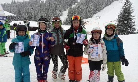 """<span class=""""entry-title-primary"""">Ski Alpin Bezirksmeisterschaften</span> <span class=""""entry-subtitle"""">Romy Tauscher holt den Bezirksmeistertitel nach Ginsheim</span>"""