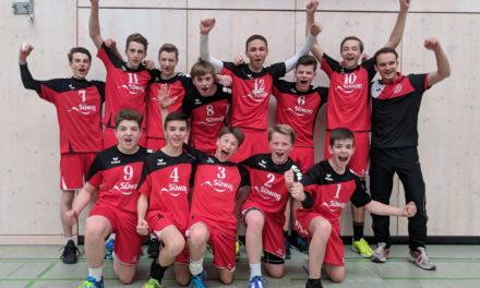 U16m wird Südwestdeutscher Meister
