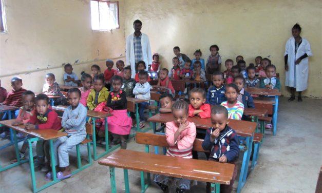 """<span class=""""entry-title-primary"""">Chance für eine bessere Kinderzukunft</span> <span class=""""entry-subtitle"""">Evangelische Kirchengemeinde Zornheim fördert Schulprojekt in Äthiopien</span>"""