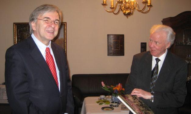 Helmut Jung feierte kürzlich seinen 80. Geburtstag