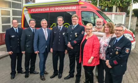 """<span class=""""entry-title-primary"""">Eine gut aufgestellte Truppe</span> <span class=""""entry-subtitle"""">Ehrenamtsempfang der Feuerwehr der Verbandsgemeinde</span>"""